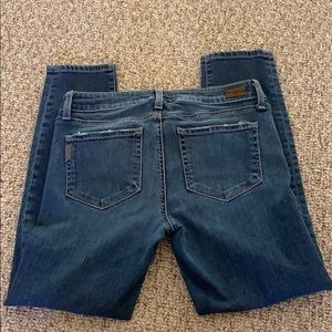 Cropped Paige Jeans Size 27